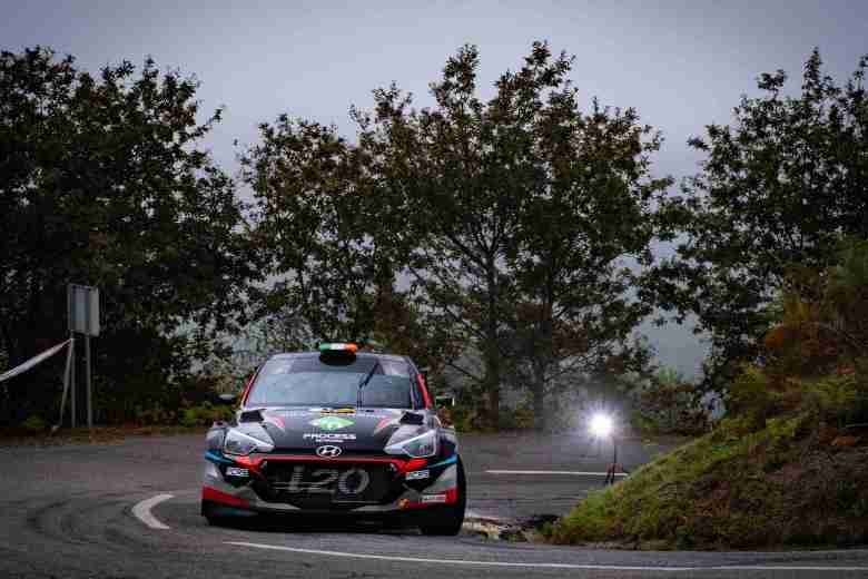 Duffy and Case on Rally Fafe Montelongo