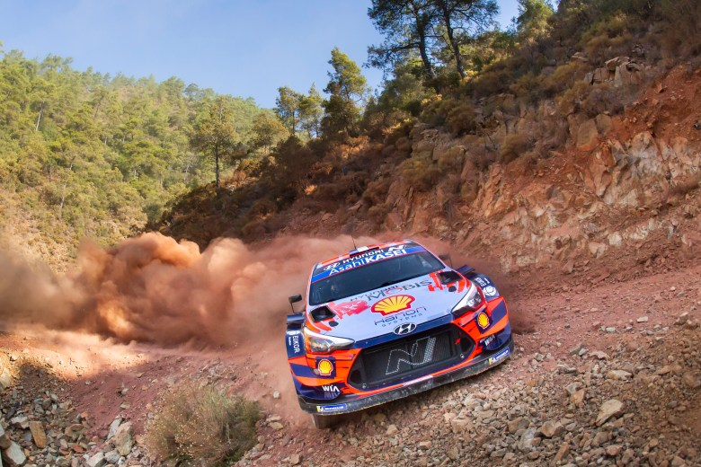 Sebastien Loeb and Daniel Elena, Hyundai i20 WRC, Rally Turkey