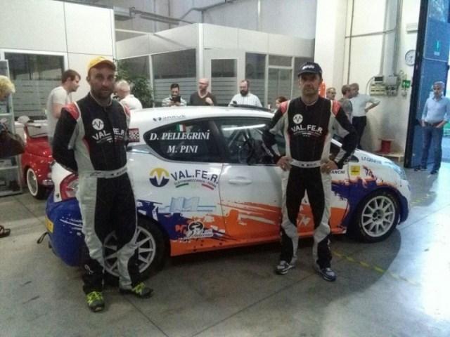 IRC: dal Taro entrano in scena Pini-Pellegrini (Peugeot 208 R2B by Bianchi)