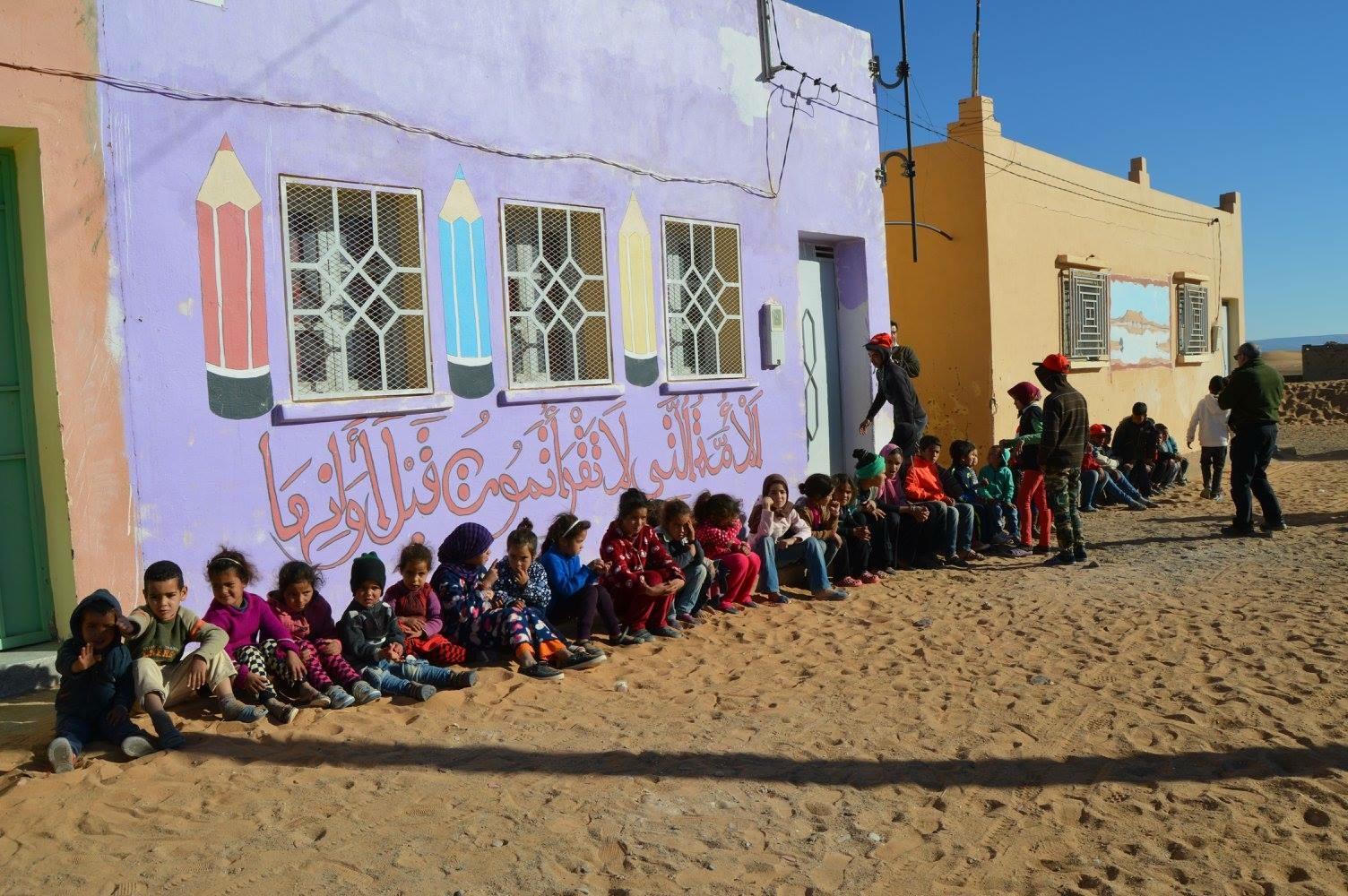 Rally Solidario Marruecos. Proyectos de Educación
