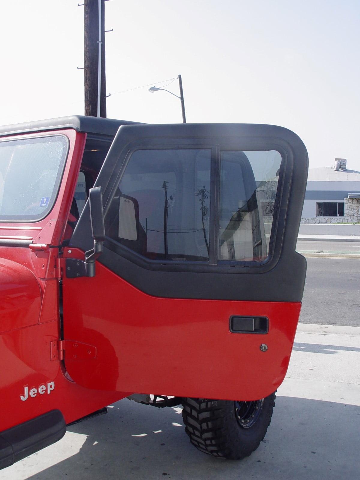 1998 Jeep Wrangler Soft Top : wrangler, Doors, Wrangler, Convert, Fiberglass, Jeeps