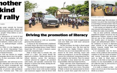 Driving the promotion of literacy