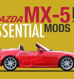 mazda mx5 miata nc 2006 2015 essential mods [ 1140 x 760 Pixel ]