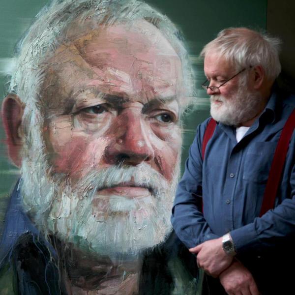 Colin Davidson Artist Painting