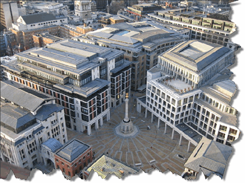 London Stock Exchange in Paternoster Square