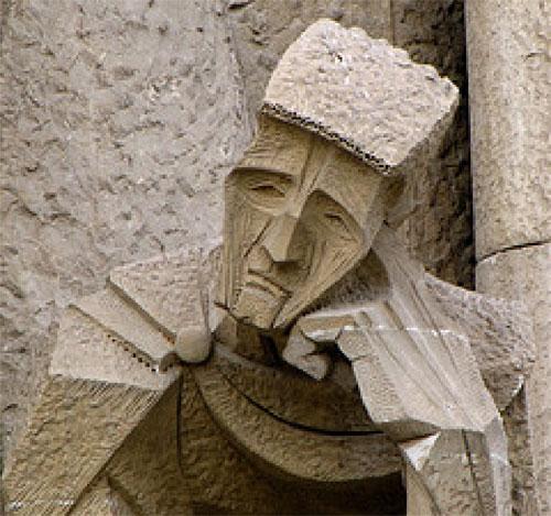 Detail of a Gaudi building