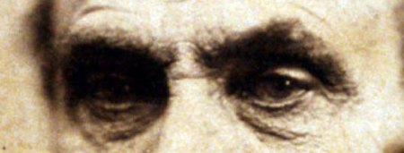Abraham Lincoln - the eyes of sadness during the war