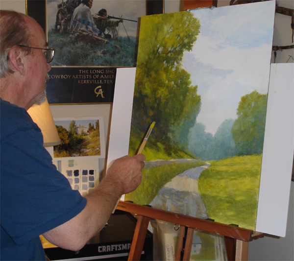 Ralph painting