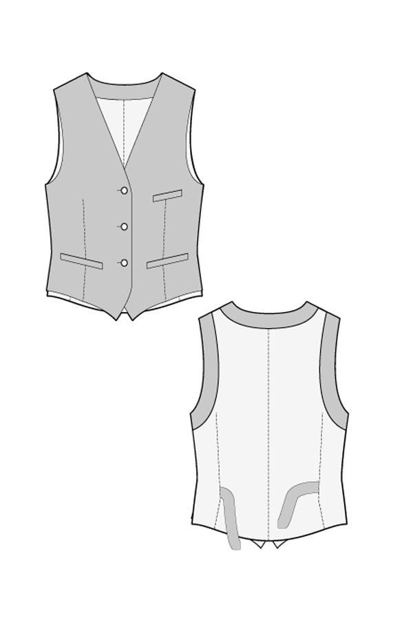 Waistcoat Pattern : waistcoat, pattern, RALPHPINK.COM, WAISTCOAT, SEWING, PATTERN
