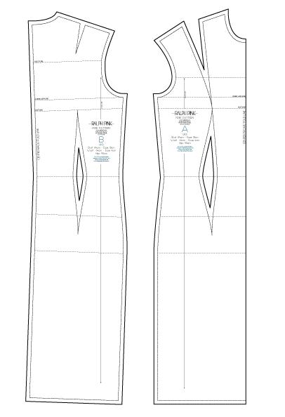 Basic Dress Pattern : basic, dress, pattern, DRESS, BLOCK, RALPHPINK.COM