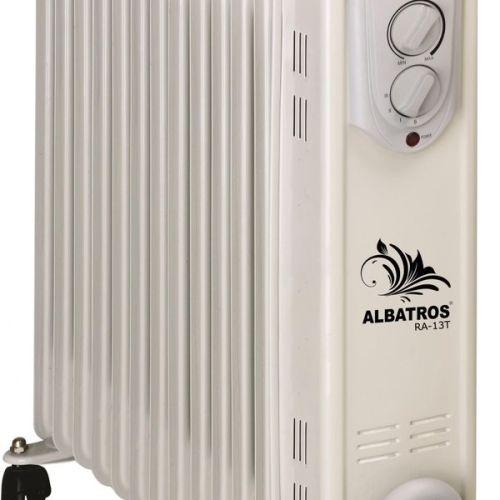 Calorifer electric Albatros RA-13T, 3000W, 13 elementi, 3 trepte (Alb)
