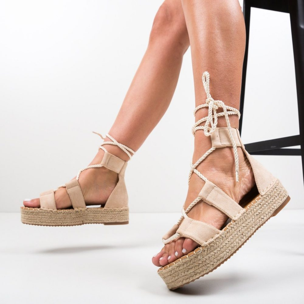 Sandale Quiero Bej 2