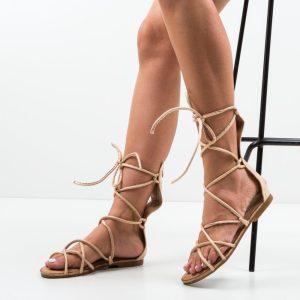 Sandale gladiiator Rosan Bej