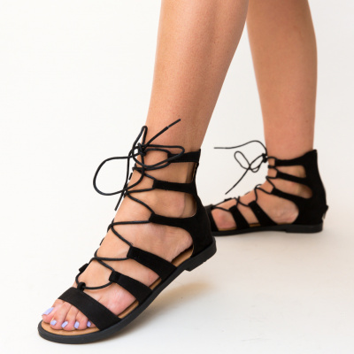 Sandale fara toc Pina Negre