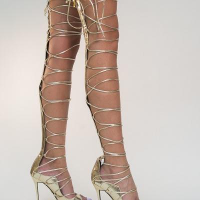 Sandale Sharon Aurii