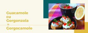 Guacamole cu Gorgonzola = Gorgocamole 1
