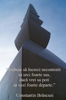 citat celebru al sculptorului Constantin Brancusi