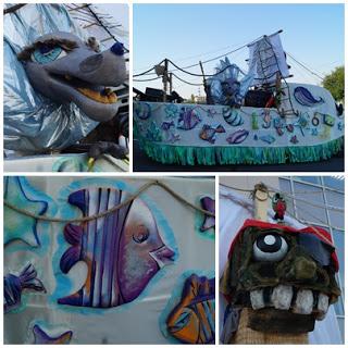 Festivalul Puppets Occupy Street tema acvatica