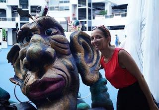 Festivalul Puppets Occupy Street, o poveste de adormit Zmeul
