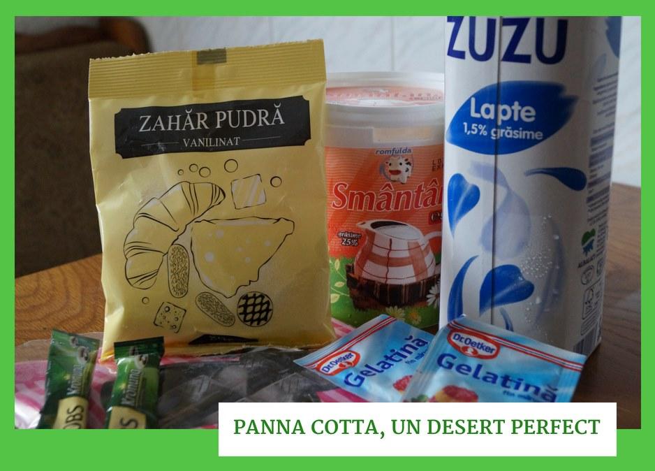 Panna Cotta, un desert perfect