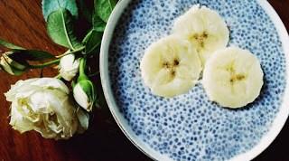 Mod de prezentare Budinca din seminte de chia si lapte de cocos