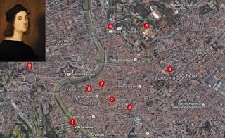 Pe urmele lui Rafael la Roma