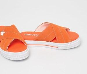 Converse - Papuci portocalii