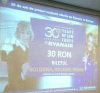 La ceas aniversar Ryanair are oferte imbatabile