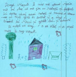 Scrisoarea lui Mario catre Mos Craciun