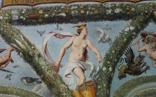 Venus in carul tras de porumbei