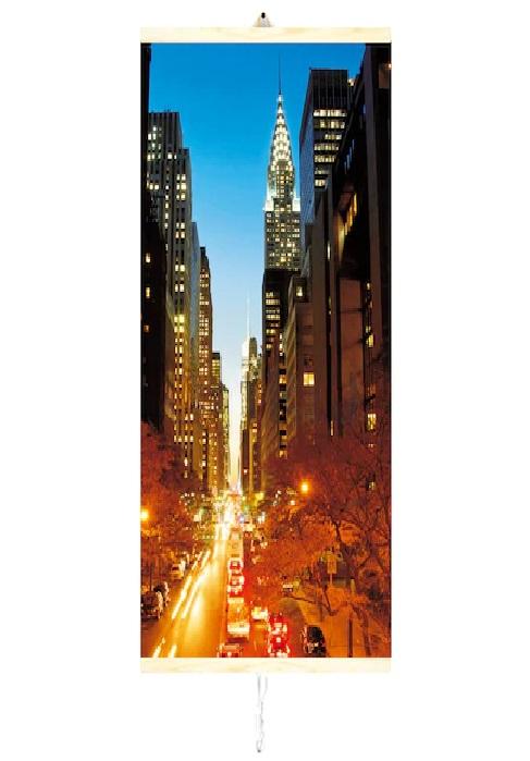 Panou electric decorativ de incalzire cu infrarosu TRIO 430W,vibe Manhattan,100 x 57 cm