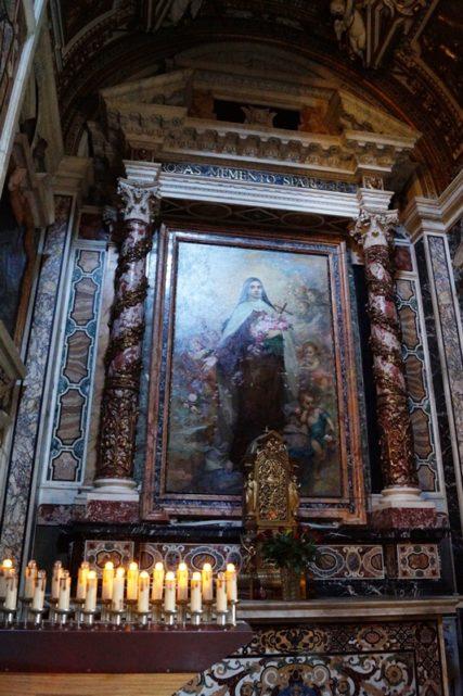 G.Szodatics, Sf. Tereza si copilul Isus