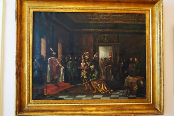 Theodor Aman- Soli turci aducand daruri lui Mihai Viteazu