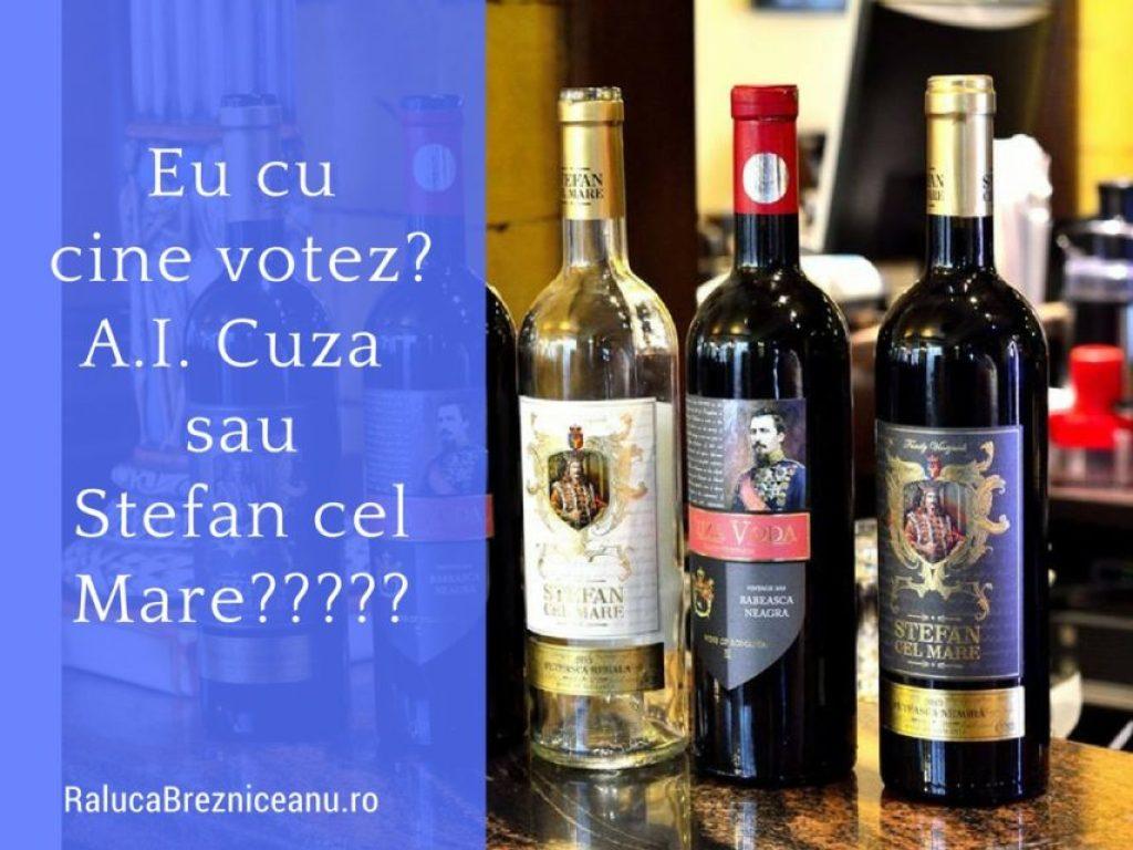 Eu cu cine votez, Stefan cel Mare sau Alexandru Ioan Cuza?