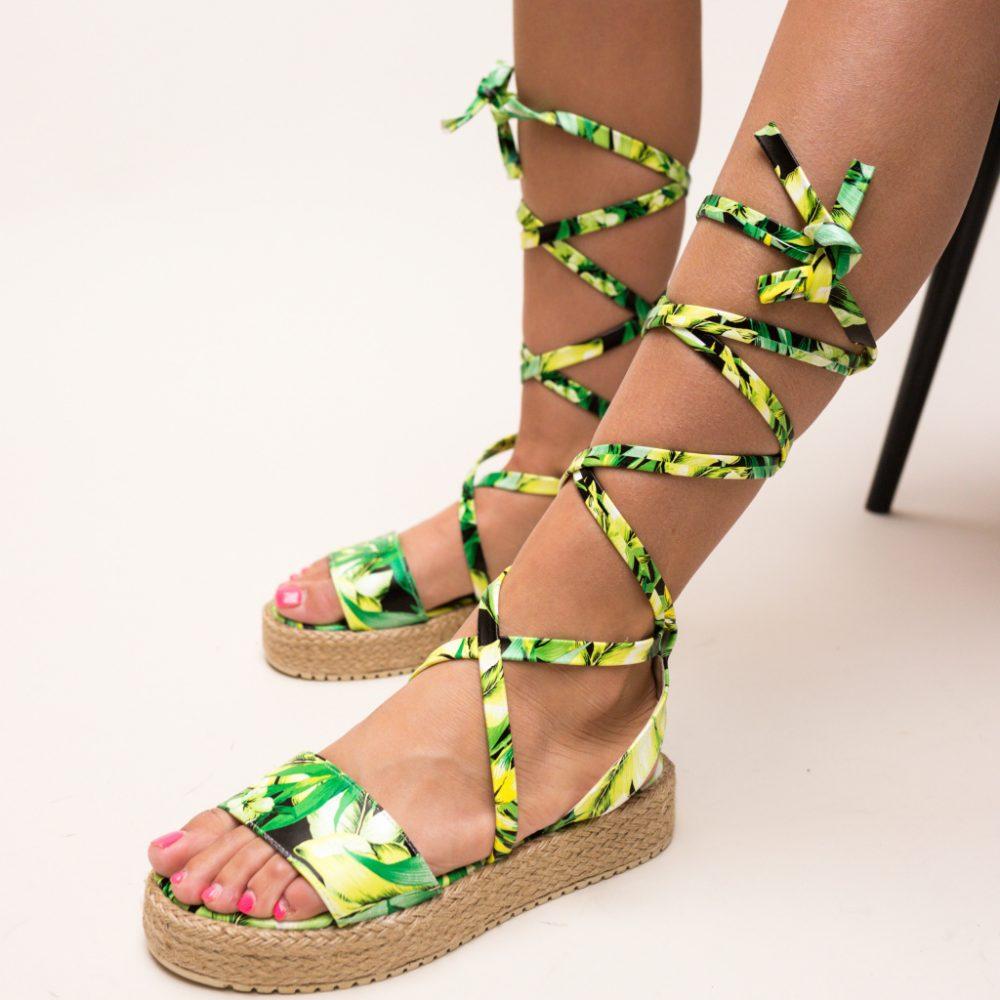 Sandale Flawon Verzi
