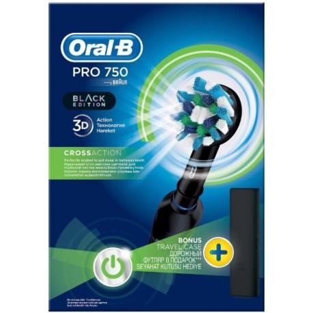 Periuta electrica Oral-B PRO 750 Black Edition