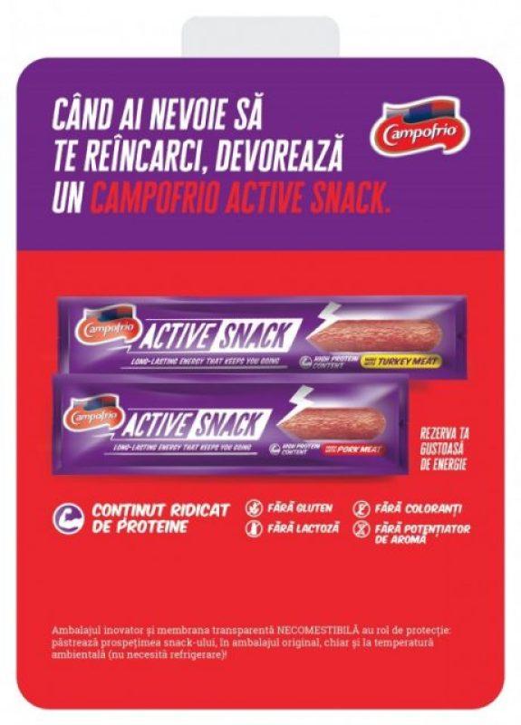 Iubitori de carne din toata Romania, bucurati-va de Active Snack!