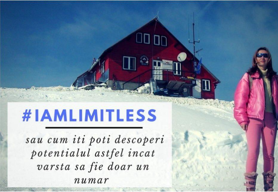 #Reset yourself! #iamlimitless sau cum iti poti descoperi potentialul astfel incat varsta sa fie doar un numar.