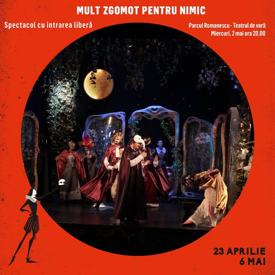 Mult zgomot pentru nimic-  spectacol prezentat de Teatrul Nottara din Bucureşti