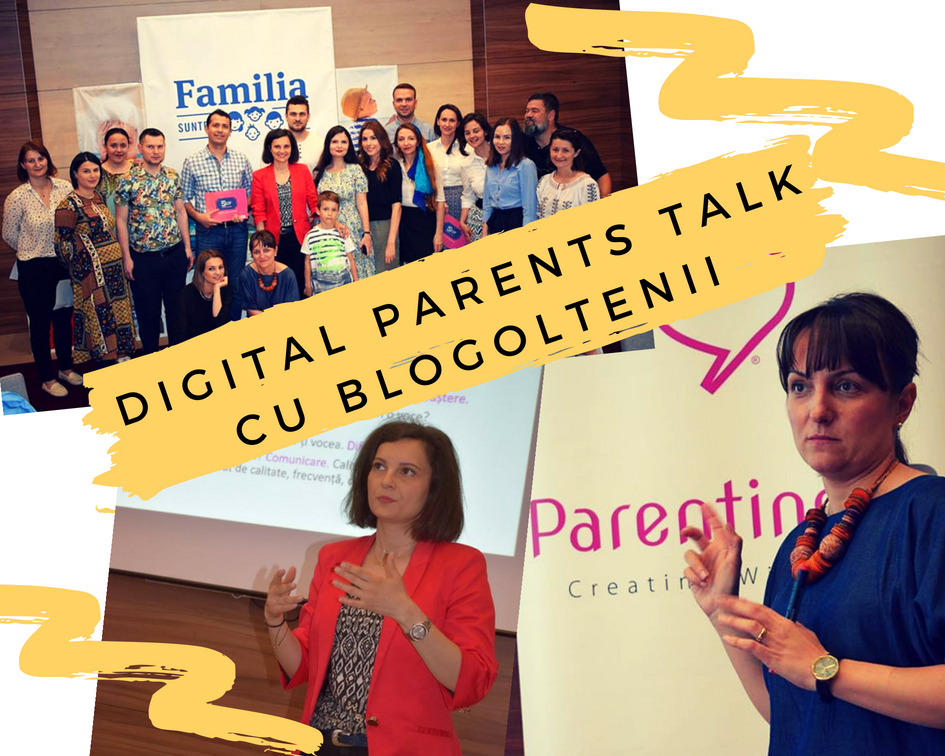 Comunitatea Digital Parents Talk s-a imbogatit cu blogolteni