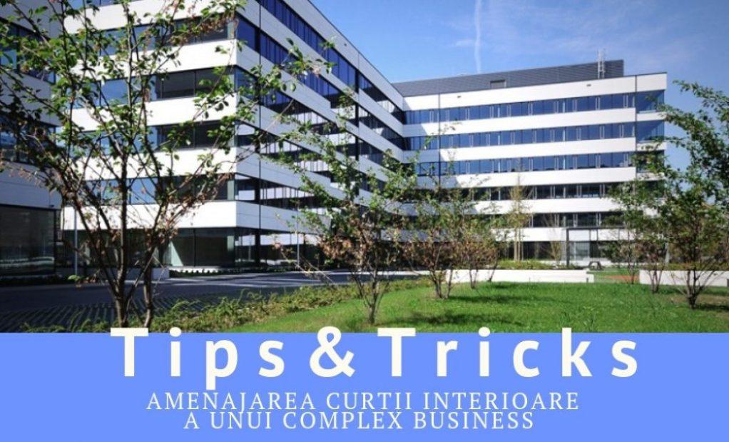Tips & Tricks - Amenajarea curtii interioare a unui complex business