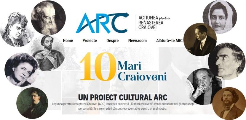 """""""10 Mari Craioveni"""" un proiect dedicat concetatenilor care au facut din lume un loc mai bun"""
