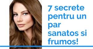 7 secrete pentru un par sanatos si frumos!