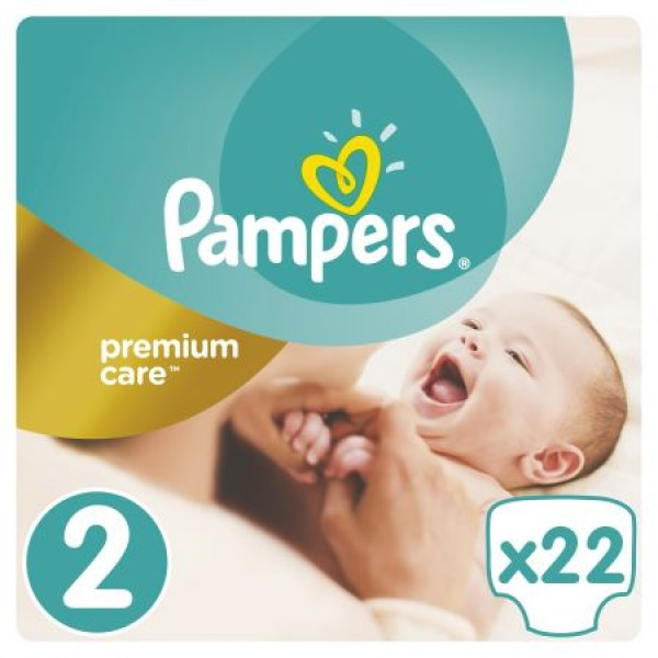 Pampers Premium Care 2 Mini SP X 22 Buc