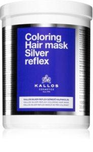 Kallos Silver Reflex vopsea de par tonifianta neutralizeaza tonurile de galben