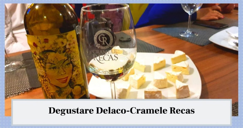 Degustare Delaco-Cramele Recas. Regno Sauvignon Blanc + Brie