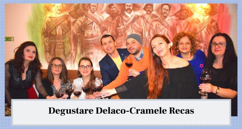 Blogosfera olteneasca la degustarea Delaco- Cramele Recas