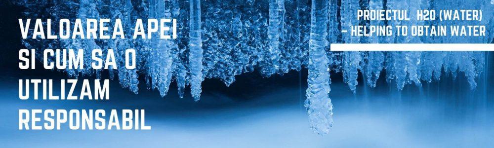 Apa dulce este o resursa pretioasa si limitata. Valoarea apei dulci