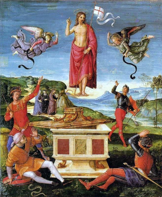 Rafael - Invierea, 1501-1502
