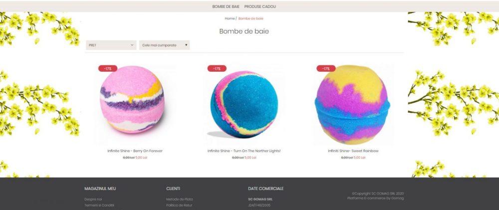 Magazinul meu online pe desktop